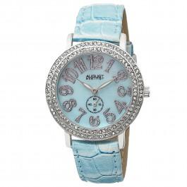 Vida Women's Crystal Bezel MOP Dial Leather AS8030