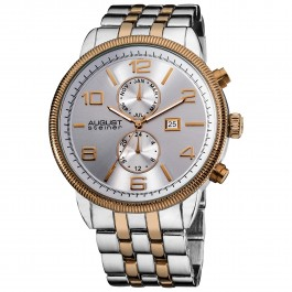 Urbane Men's Coin Edge Bezel Radiant Dial Bracelet AS8069