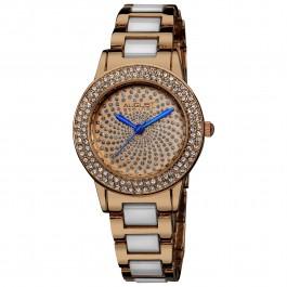 Vida Women's Crystal Bezel and Dial Bracelet AS8052