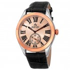 Endeavor Men's Radiant Dial Roman Numeral Leather Strap AS8203