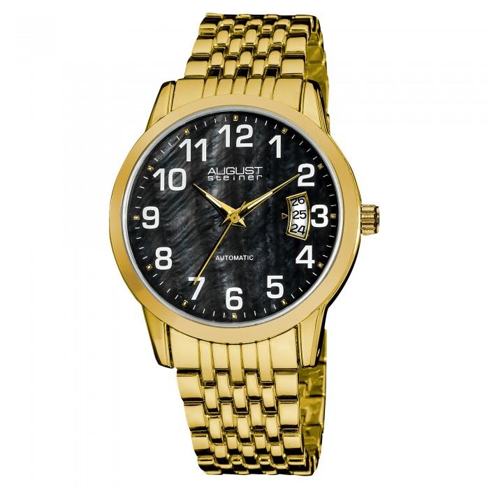 Endeavor Men's MOP Dial Arabic Numeral Bracelet AS8026