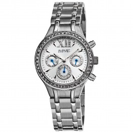 Classique Women's Crystal Bezel Radiant Dial Multi-Function Bracelet AS8040