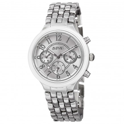Classique Women's Ceramic Bezel Radiant Dial Bracelet AS8039