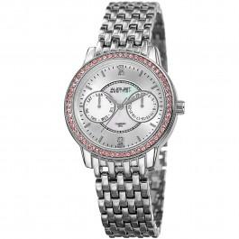 Vida Women's Crystal Bezel MOP Dial Bracelet AS8228