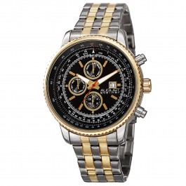 Mercury Men's Gear Bezel Tachymeter Dial Bracelet AS8162