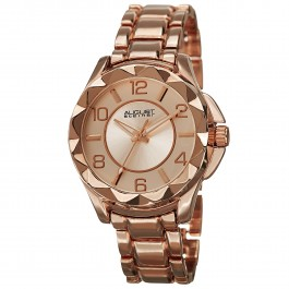 Vida Women's Rose Edge Crystal Radiant Dial Bracelet AS8159