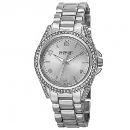 Vida Women's Crystal Bezel Record Dial Bracelet AS8149