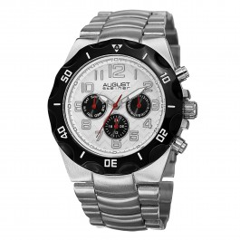 Mercury Men's Gear Bezel Textured Dial Multi-Function Bracelet AS8161