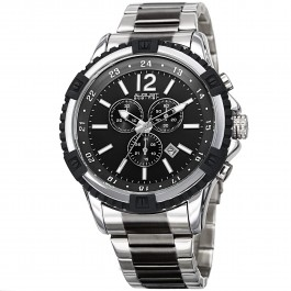 Mercury Men's Step Dial Chronograph Bracelet AS8229