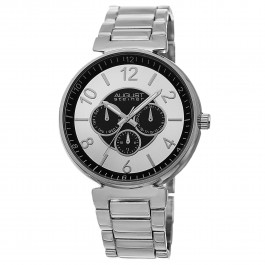 Endeavor Men's Slim Bezel Concentric Circle Multi-Function Bracelet AS8102