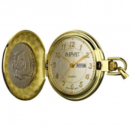 Endeavor Men's Coin Cover Radiant Dial Pocket Watch AS8019